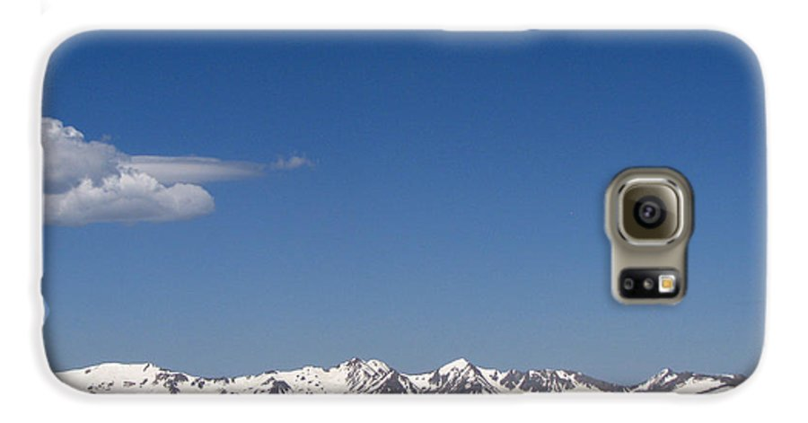 Mountains Galaxy S6 Case featuring the photograph Alpine Tundra Series by Amanda Barcon
