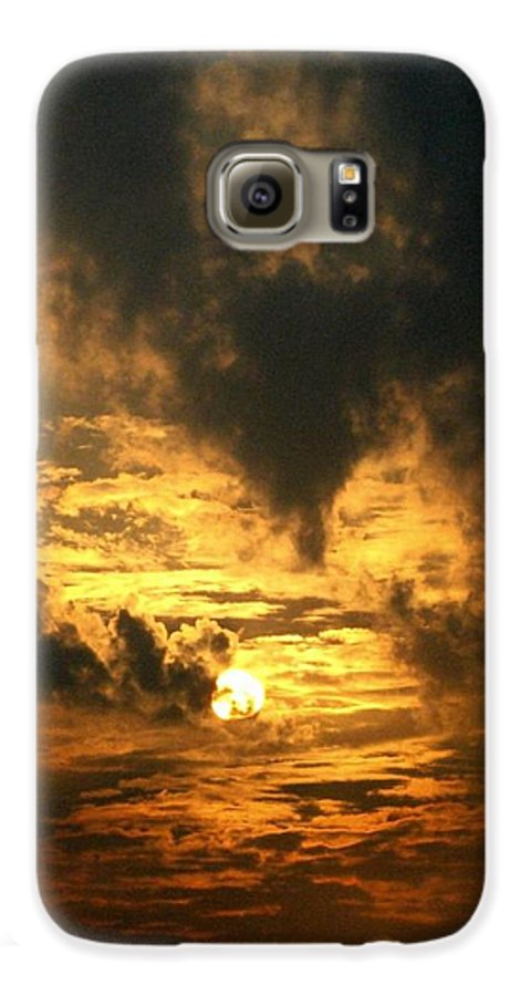 Daybreak Galaxy S6 Case featuring the photograph Alter Daybreak by Rhonda Barrett