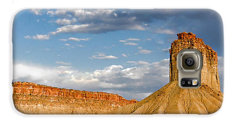 Mountain Galaxy S6 Case featuring the photograph Amazing Mesa Verde Country by Christine Till
