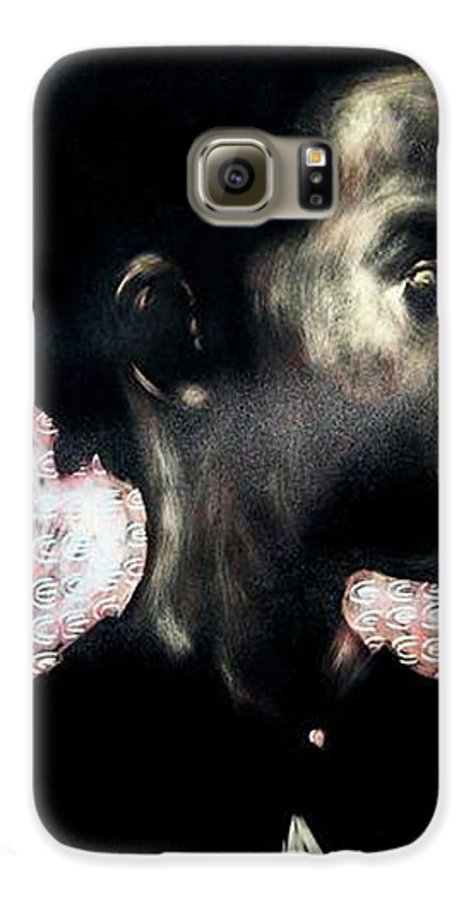 Galaxy S6 Case featuring the mixed media Angel Of Mercy by Chester Elmore