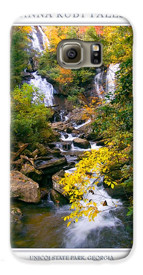 Landscape Galaxy S6 Case featuring the photograph Anna Ruby Falls by Peter Muzyka