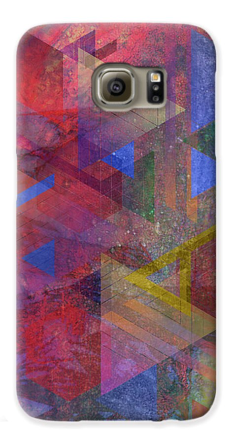 Another Time Galaxy S6 Case featuring the digital art Another Time by John Beck