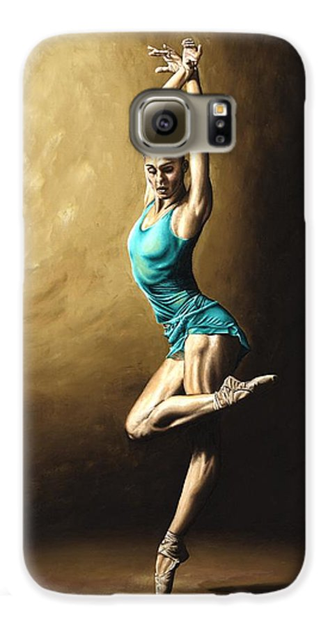 Dance Galaxy S6 Case featuring the painting Ardent Dancer by Richard Young