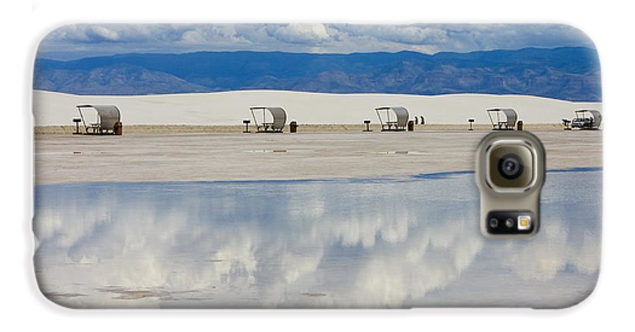 New Mexico Galaxy S6 Case featuring the photograph Armageddon Picnic by Skip Hunt