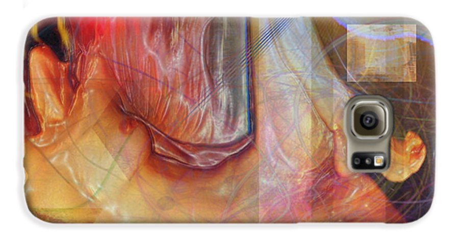 Passion Play Galaxy S6 Case featuring the digital art Passion Play by John Beck