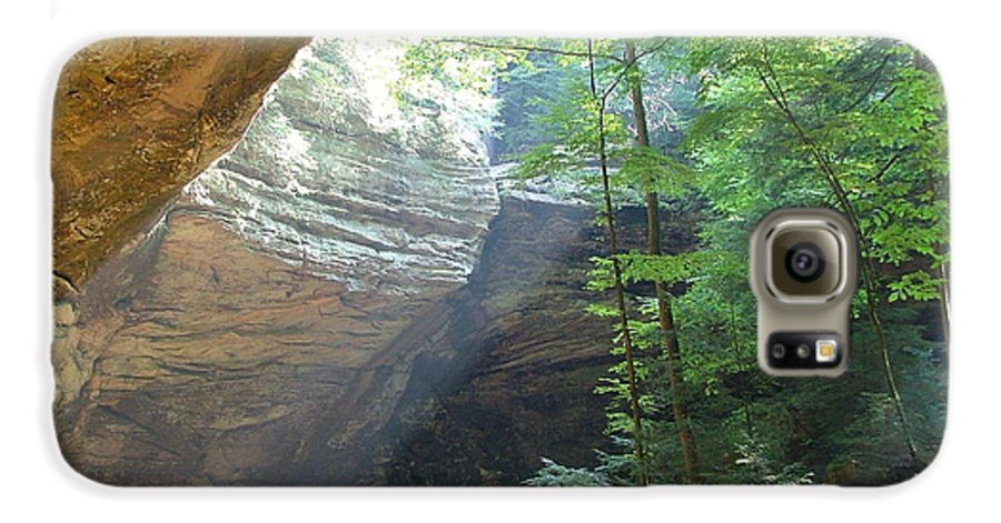 Photograph Galaxy S6 Case featuring the photograph Ash Cave by Mindy Newman