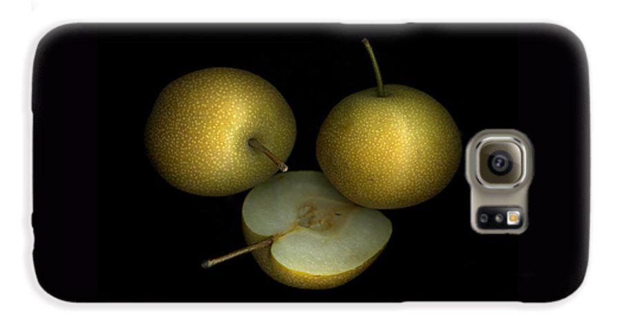Culinary Galaxy S6 Case featuring the photograph Asian Pears by Christian Slanec