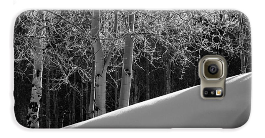 Colorado Galaxy S6 Case featuring the photograph Aspencade by Skip Hunt