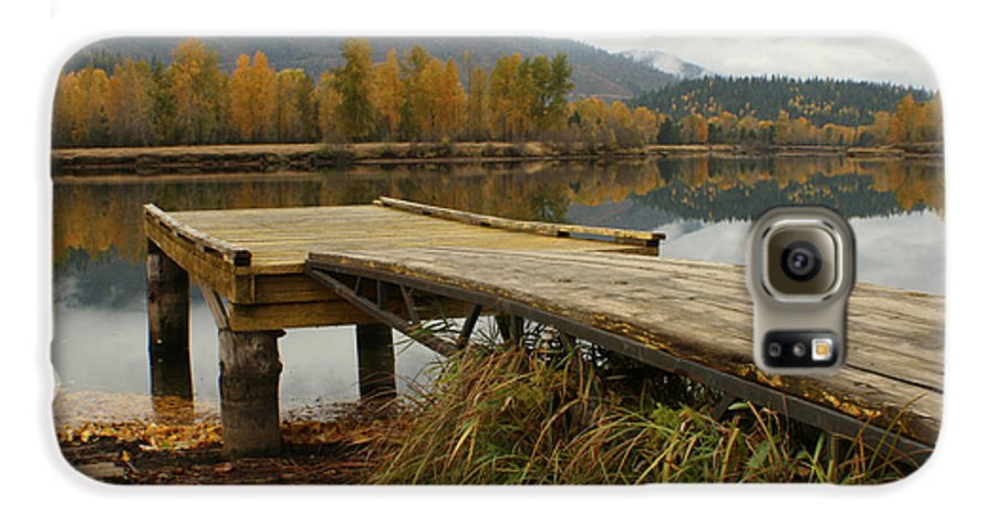 River Galaxy S6 Case featuring the photograph Autumn On The River by Idaho Scenic Images Linda Lantzy