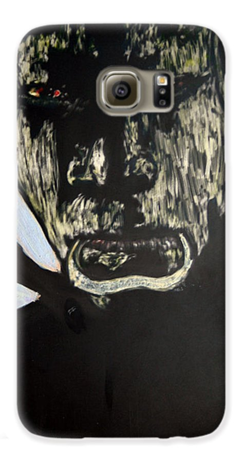 Galaxy S6 Case featuring the mixed media Avenging Angel by Chester Elmore