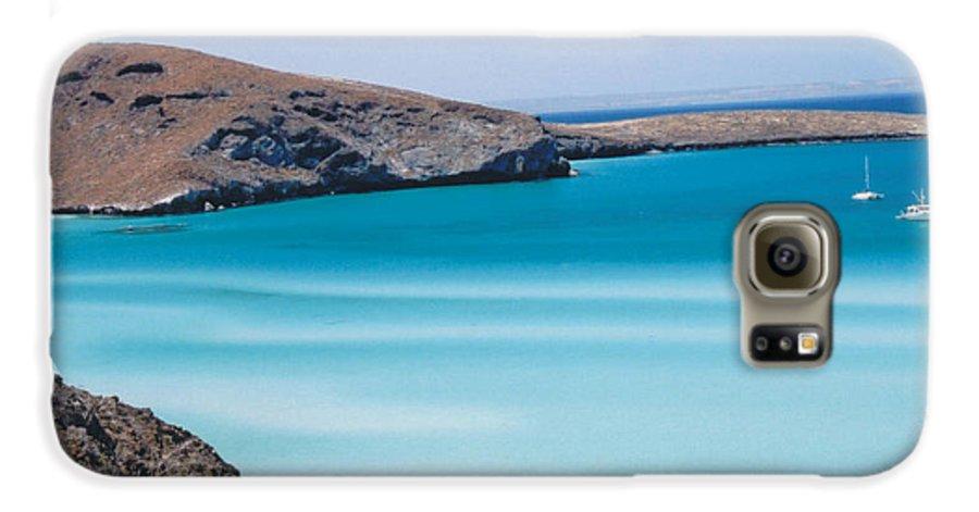 Blue Galaxy S6 Case featuring the photograph Balandra Bay by Kathy Schumann