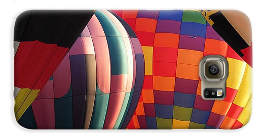 Hot Air Balloons Galaxy S6 Case featuring the photograph Balloons by Margaret Fortunato