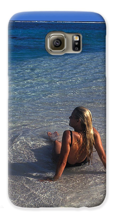 Beautiful Galaxy S6 Case featuring the photograph Beach At Little Cayman by Carl Purcell