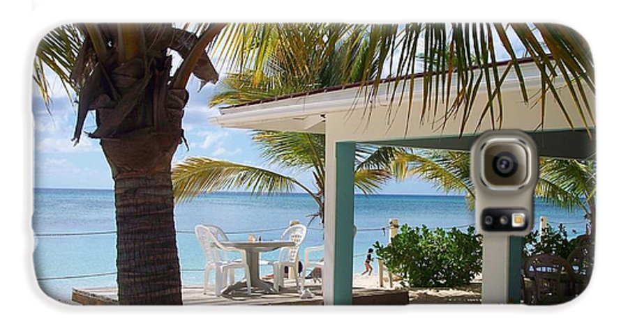 Beach Galaxy S6 Case featuring the photograph Beach In Grand Turk by Debbi Granruth