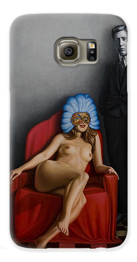 Nude Galaxy S6 Case featuring the painting Beauty Of The Carnival by Horacio Cardozo