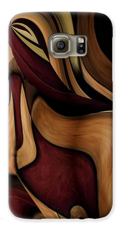 Beauty Queen Galaxy S6 Case featuring the painting Beauty Queen by Jill English