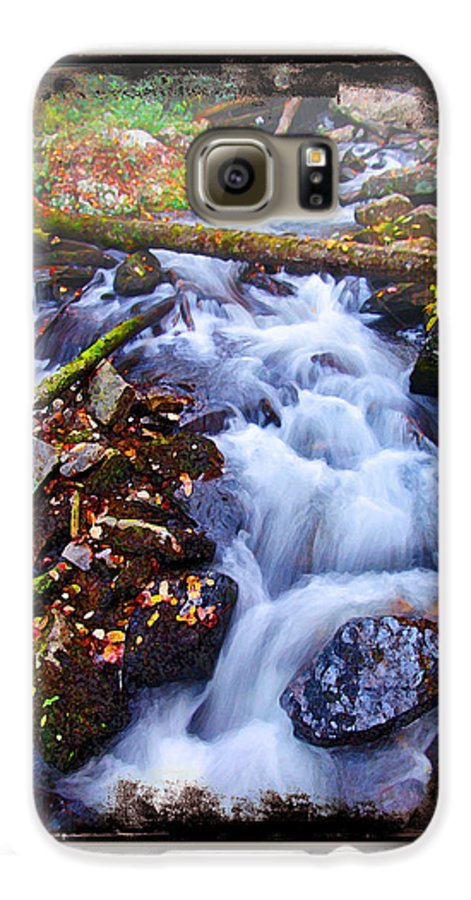 Landscape Galaxy S6 Case featuring the photograph Below Anna Ruby Falls by Peter Muzyka