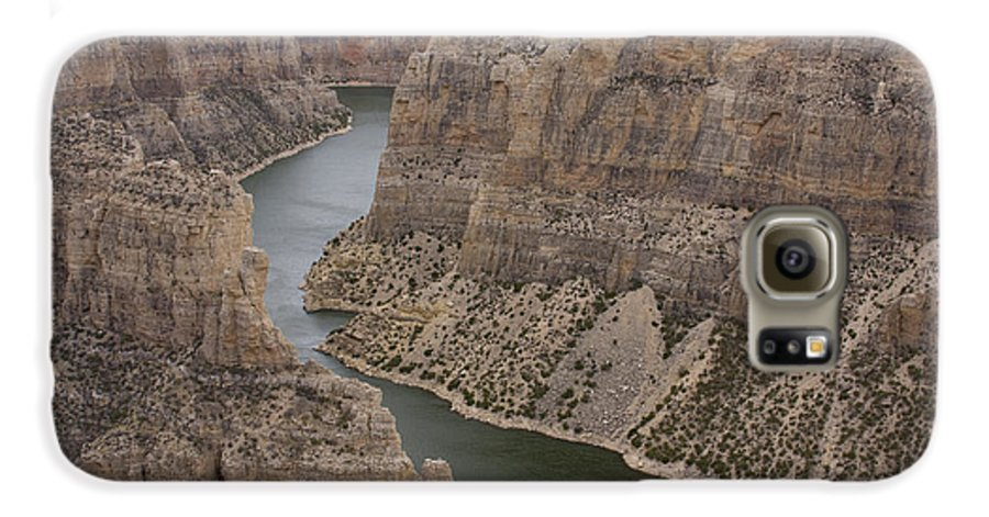 Canyon Galaxy S6 Case featuring the photograph Bighorn Canyon by Idaho Scenic Images Linda Lantzy