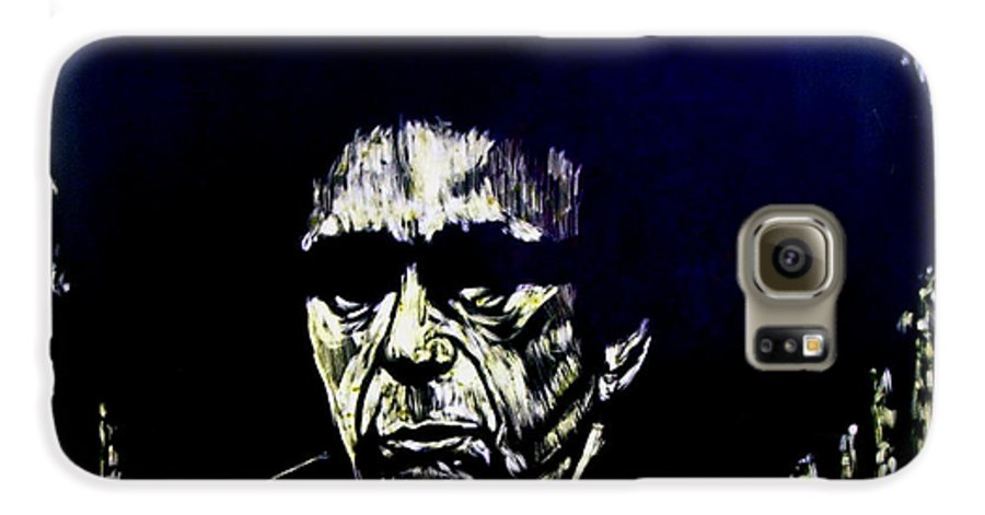 Galaxy S6 Case featuring the mixed media Blacksploitation Witness Protection Program by Chester Elmore