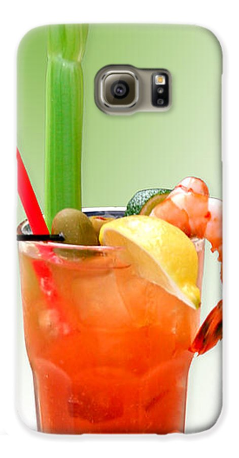 Drinks Galaxy S6 Case featuring the photograph Bloody Mary Hand-crafted by Christine Till