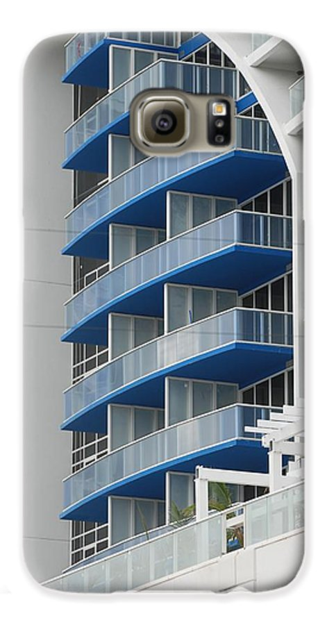 Architecture Galaxy S6 Case featuring the photograph Blue Bayu by Rob Hans