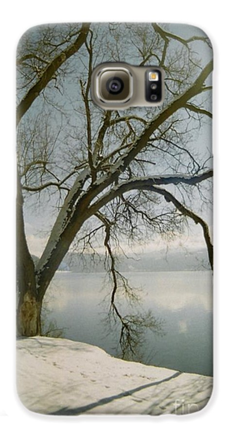 Blue Galaxy S6 Case featuring the photograph Blue Dream by Idaho Scenic Images Linda Lantzy