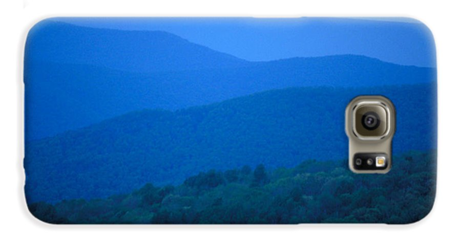 Mountains Galaxy S6 Case featuring the photograph Blue Ridge Mountains by Carl Purcell