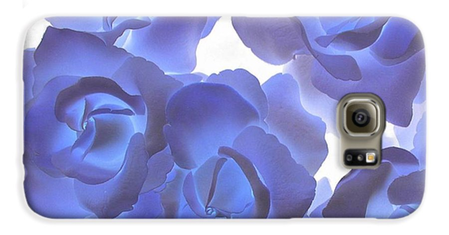 Blue Galaxy S6 Case featuring the photograph Blue Roses by Tom Reynen