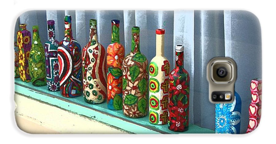 Bottles Galaxy S6 Case featuring the photograph Bottled Up by Debbi Granruth