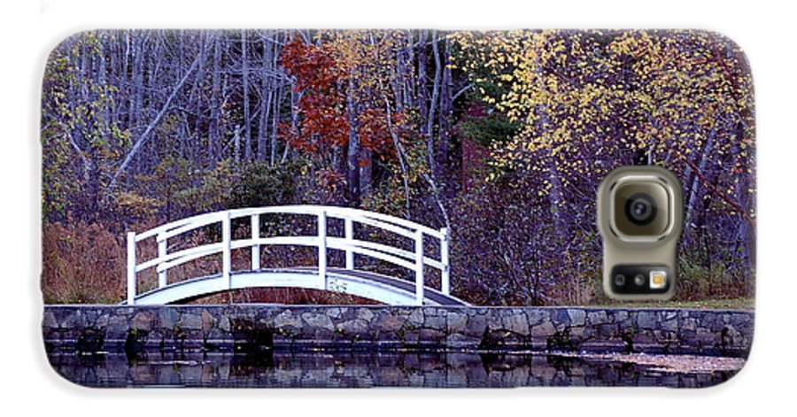 Bridge Galaxy S6 Case featuring the photograph Bridge To Serenity by Faith Harron Boudreau