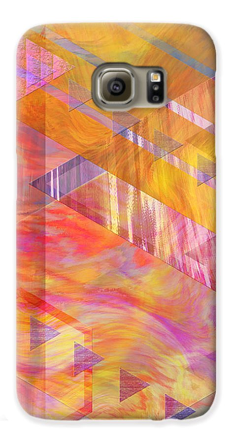 Affordable Art Galaxy S6 Case featuring the digital art Bright Dawn by John Beck