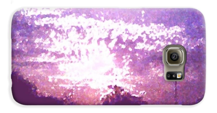 Evening Galaxy S6 Case featuring the digital art Bright Evening by Dr Loifer Vladimir