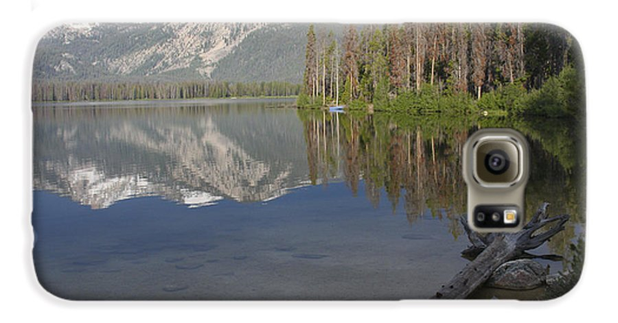 Stanley Lake Galaxy S6 Case featuring the photograph Calm Before The Storm by Idaho Scenic Images Linda Lantzy