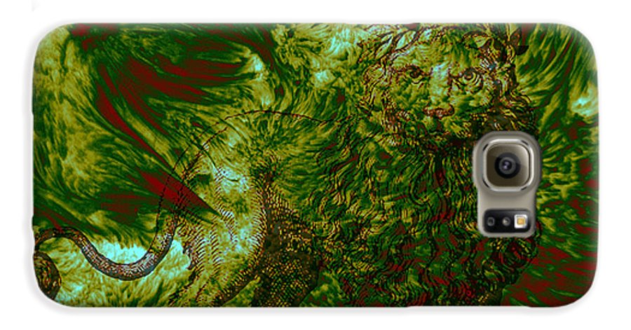 Forest Galaxy S6 Case featuring the photograph Can You See Me by Evelyn Patrick