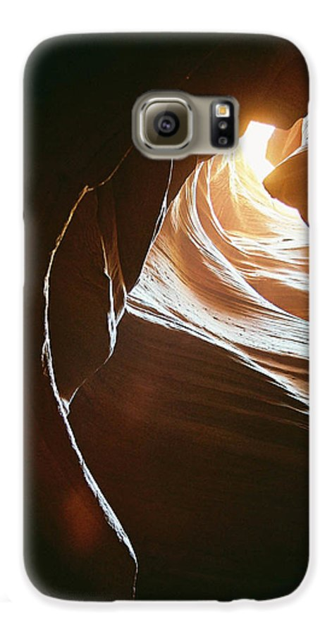 Landscape Galaxy S6 Case featuring the photograph Canyon Flares by Cathy Franklin
