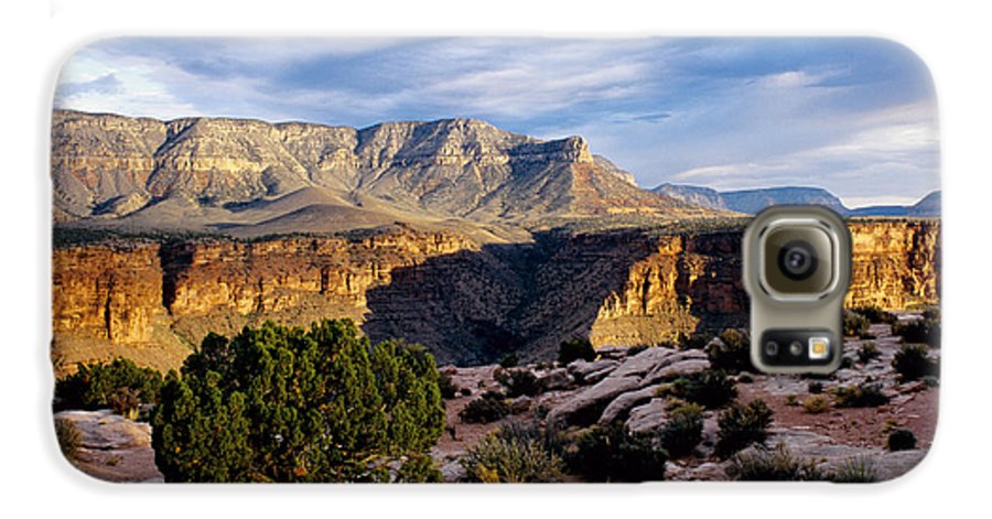 Toroweap Galaxy S6 Case featuring the photograph Canyon Walls At Toroweap by Kathy McClure