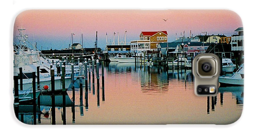 Cape May Galaxy S6 Case featuring the photograph Cape May After Glow by Steve Karol