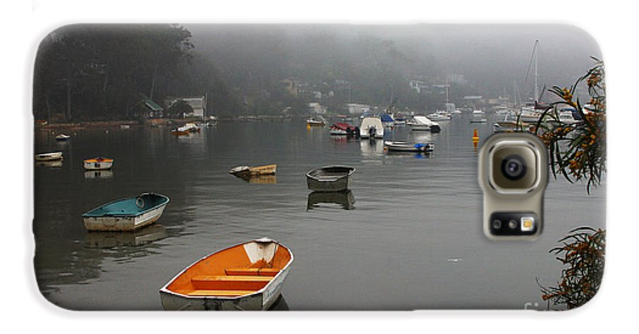 Mist Galaxy S6 Case featuring the photograph Careel Bay Mist by Avalon Fine Art Photography