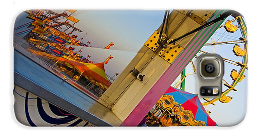 Carnival Galaxy S6 Case featuring the photograph Carnival 1 by Skip Hunt