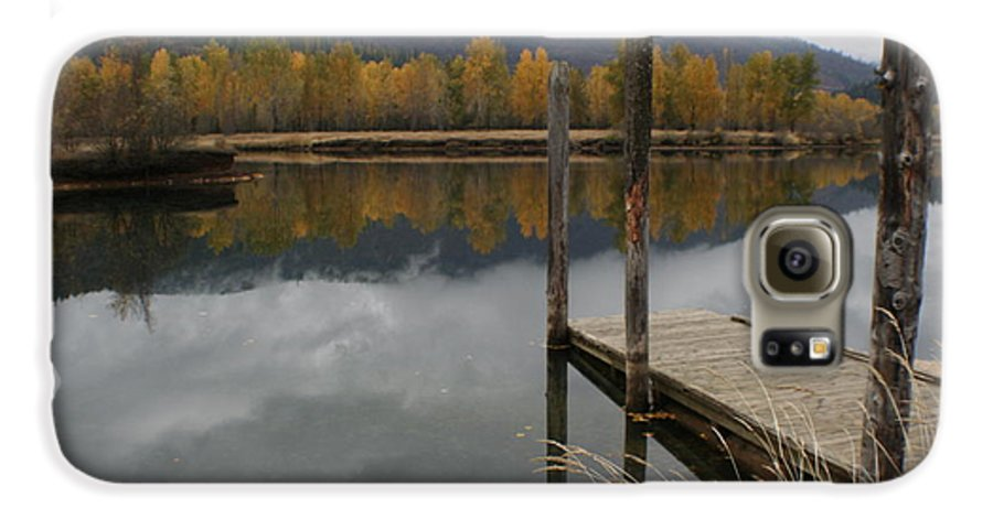 Cataldo Galaxy S6 Case featuring the photograph Cataldo Reflections by Idaho Scenic Images Linda Lantzy