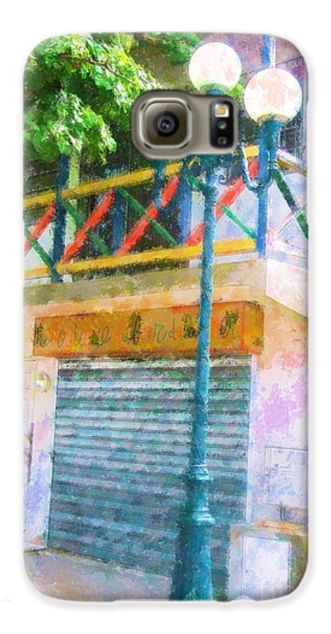 St. Martin Galaxy S6 Case featuring the photograph Cest La Vie by Debbi Granruth