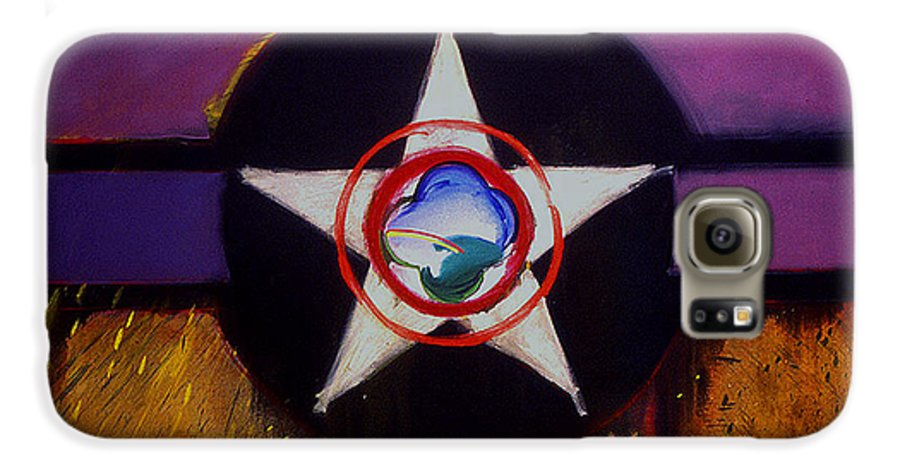 Air Force Insignia Galaxy S6 Case featuring the painting Cheyenne Autumn by Charles Stuart