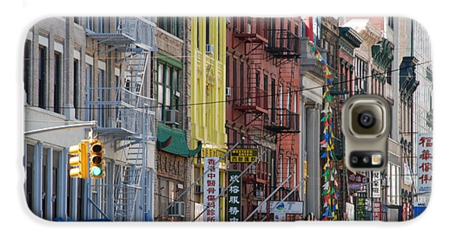 Architecture Galaxy S6 Case featuring the photograph Chinatown Walk Ups by Rob Hans