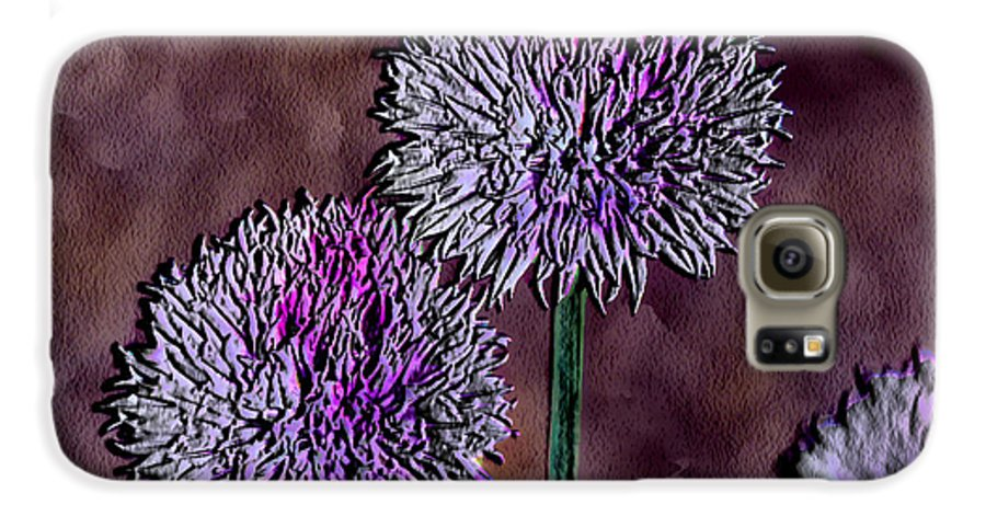 Ebsq Galaxy S6 Case featuring the photograph Chives by Dee Flouton