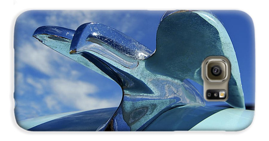 Automobile Galaxy S6 Case featuring the photograph Chrysler Of Old by Larry Keahey