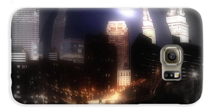 Cleveland Galaxy S6 Case featuring the photograph City On The North Coast by Kenneth Krolikowski