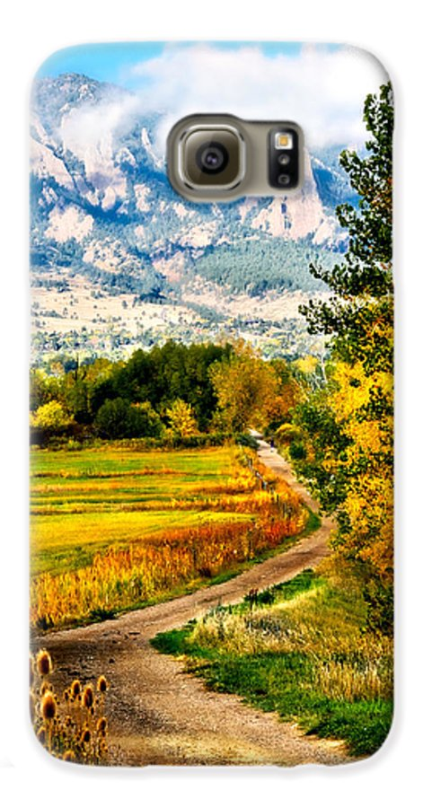 Americana Galaxy S6 Case featuring the photograph Clearly Colorado by Marilyn Hunt