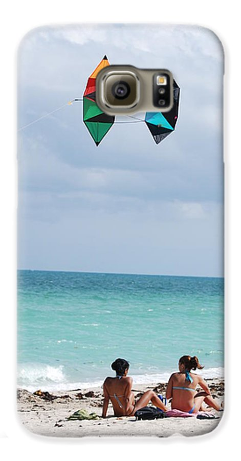 Sea Scape Galaxy S6 Case featuring the photograph Close Encounters by Rob Hans