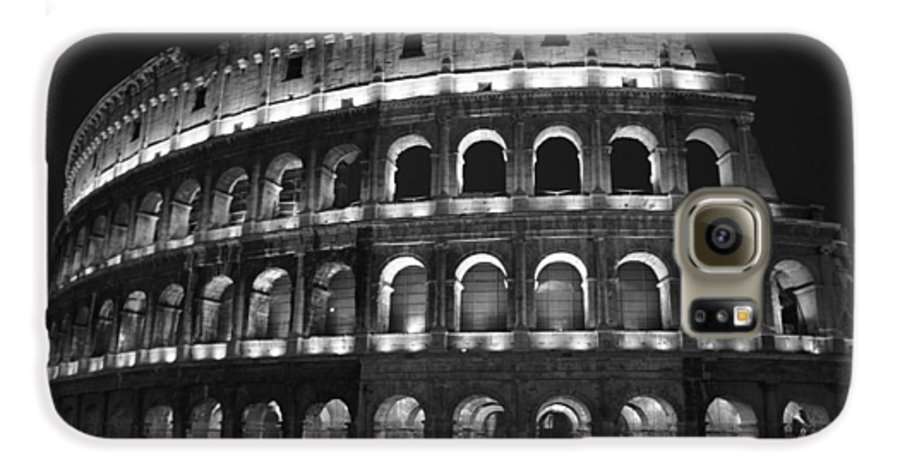 Italy Galaxy S6 Case featuring the photograph Colosseum by Kathy Schumann