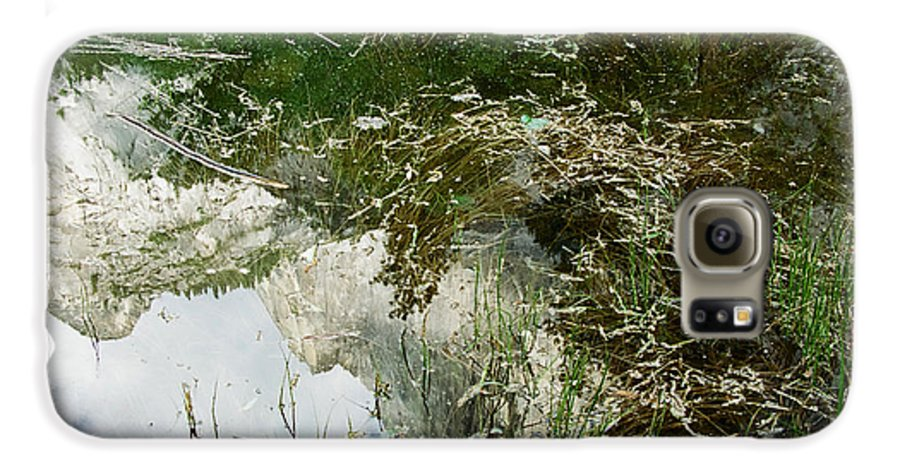 Mirror Lake Galaxy S6 Case featuring the photograph Confusion by Kathy McClure